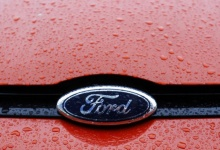 The Ford logo is seen on a vehicle in this file photo. REUTERS/Bogdan Cristel/Files
