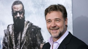 "Cast member  Russell Crowe attends the U.S. premiere of ""Noah"" in New York March 26, 2014. REUTERS/Andrew Kelly/Files"