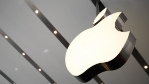 The Apple logo is pictured inside the Omotesando Apple store at a shopping district in Tokyo June 26, 2014. Picture taken June 26. REUTERS/Yuya Shino/Files