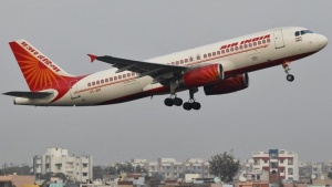 An Air India passenger plane takes off from Sardar Vallabhbhai Patel International Airport in Ahmedabad January 30, 2013. REUTERS/Amit Dave/Files