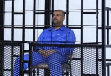 Ghaddafi son sentenced