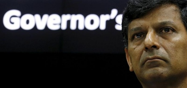 RBI Governor Raghuram Rajan listens to a question during a news conference after the bi-monthly monetary policy review in Mumbai, February 2, 2016. REUTERS/Danish Siddiqui
