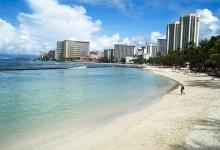 Hawaii's Waikiki Beach in a file photo. REUTERS/Marco Garcia