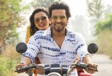Handout photo: Actors Meenakshi Dixit and Randeep Hooda in 'Laal Rang'