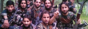 Facebook photo shows militant Burhan Wani.
