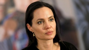 United Nations High Commissioner for Refugees (UNHCR) Special Envoy Angelina Jolie attends a news conference as she visits a Syrian and Iraqi refugee camp in the southern Turkish town of Midyat in Mardin province, Turkey, June 20, 2015. REUTERS/Umit Bektas/File Photo