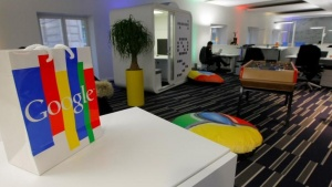Inside view of the new headquarters of Google France before its official inauguration in Paris December 6, 2011. REUTERS/Jacques Brinon/Pool/Files