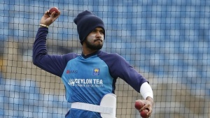 Britain Cricket - Sri Lanka Nets - Headingley - 17/5/16. Sri Lanka's Dushmantha Chameera during nets. Action Images via Reuters / Lee Smith/ Livepic/ Files