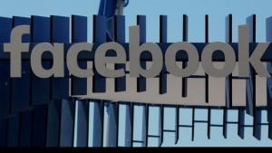 The logo of Facebook is seen at the Cannes Lions Festival in Cannes, France, June 23, 2016.  REUTERS/Eric Gaillard