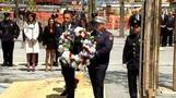 Obama visits Ground Zero