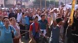Egyptian Christian protest attacked