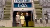 Queen Elizabeth visits Croke Park