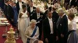 Queen hosts State Dinner affirming ties with U.S.