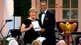 Merkel attends White House dinner