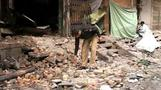 Police scour Pakistan bomb scene