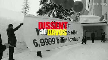 Dissent at Davos: Activists demand a place on the agenda