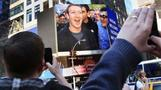 "Mark Zuckerberg during Facebook IPO launch: ""This is an awesome moment"""