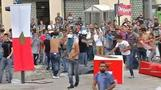 Violence at Beirut protest