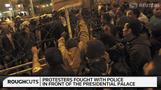 Protesters, police clash at presidential palace in Cairo - Rough Cuts
