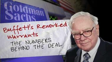 Calculating Buffett's Goldman bonanza