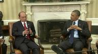 Obama, Myanmar's President Thein Sein meet