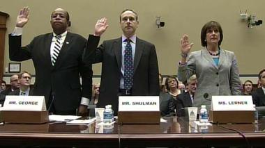 Tempers flare in Congress over IRS fiasco