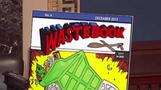 "It's a plane! It's a blimp!  It's ""Wastebook 2013""!"