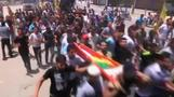 Funeral for Gaza family killed in Israeli air st