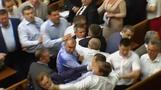 Brawl in Ukraine parliamen