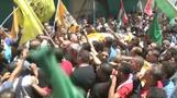 Funerals held for two Palestinians killed in West Bank clashes