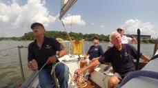 """Old timers"" sail the Chesapeake Bay"