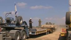 Israeli army withdraws armored vehicles from Gaza border area