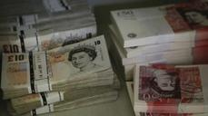 Sterling jumps, on Scottish vote