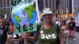 Thousands take part in climate change demos