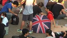 Hong Kong protesters defiant
