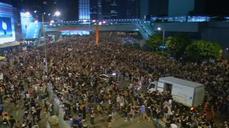 Wall St. watches Hong Kong protests
