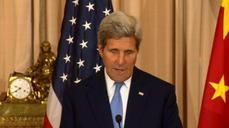 "Kerry has ""high hopes"" authorities will show restraint in Hong Kong"