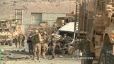 Suicide blast hits Afghanistan convoy