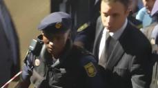 Pistorius arrives in court for sentencing