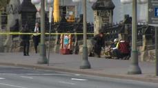 Soldier shot near Canadian parliament building