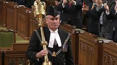 Sergeant-at-Arms Kevin Vickers honored in Canadian parliament