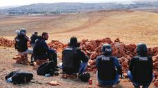 View from the hill: Covering Kobani from afar
