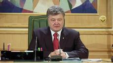 "Ukraine's Poroshenko condemns ""pseudo-elections"" in east"