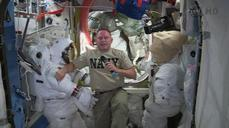 "U.S. astronaut says Space Station ""somber"" after rocket explosion"