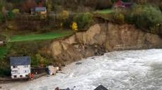 Floodwaters slam Norway