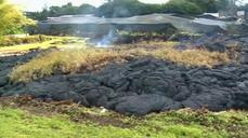 Lava slows as it approaches Hawaiian to