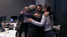 ESA space probe makes first-ever landing on comet