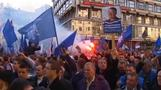 Thousands welcome return of Serb nationalist
