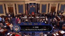U.S. Senate fails to pass Keystone XL pipeline bill