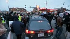 Vehicle strikes Ferguson protester in Minnesota